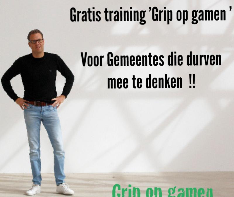 Gratis training 'Grip op gamen' voor gemeenten